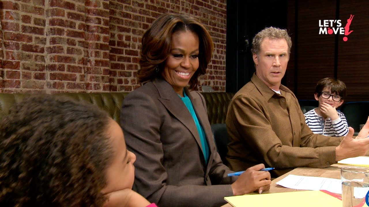 """Let's Move! """"Focus Group"""" with Will Ferrell"""