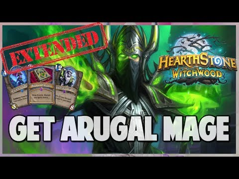Get Arugal Mage | Extended Gameplay | Hearthstone | The Witchwood