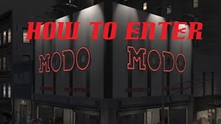 Gta Tbogt How To Get Into Modo (clothing Store)