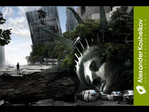 7-Photoshop Speed Art - NY after all