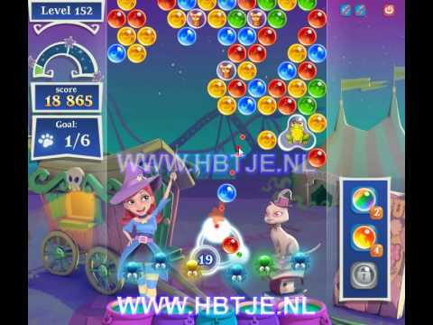 Bubble Witch Saga 2 level 152