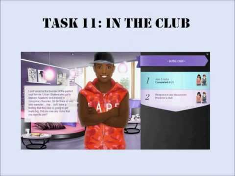Stardoll Academy Walkthrough Task 11: In The Club