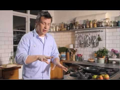 Jamie Oliver - Slow Cooked Pork with Spiced Apple Sauce, Check out Jamie Oliver's latest recipe - slow cooked pork with spiced apple sauce. This is using pieces from the Jamie Oliver Kitchen Kit range - the key ite...