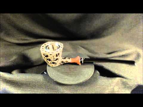 VM&EM . Tobacco Smoking Pipe Handicraft . v160 Steampunk Frankenstein III She