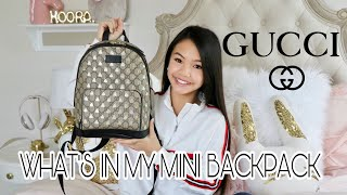 WHAT'S IN MY BAG! *GUCCI*