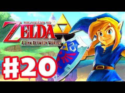 The Legend of Zelda: A Link Between Worlds - Gameplay Walkthrough Part 20 - Final Master Sword (3DS)