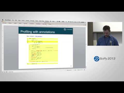 Image from Cython: Speed up Python and NumPy, Pythonize C, C++, and Fortran, SciPy2013 Tutorial, Part 2 of 4