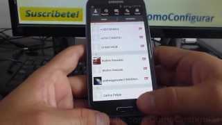 Como Eliminar Un Contacto En Tango Android Samsung Galaxy