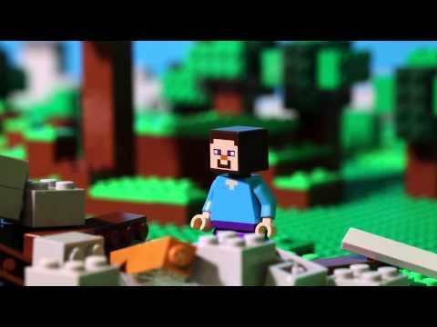 Lego Minecraft - Prvá noc