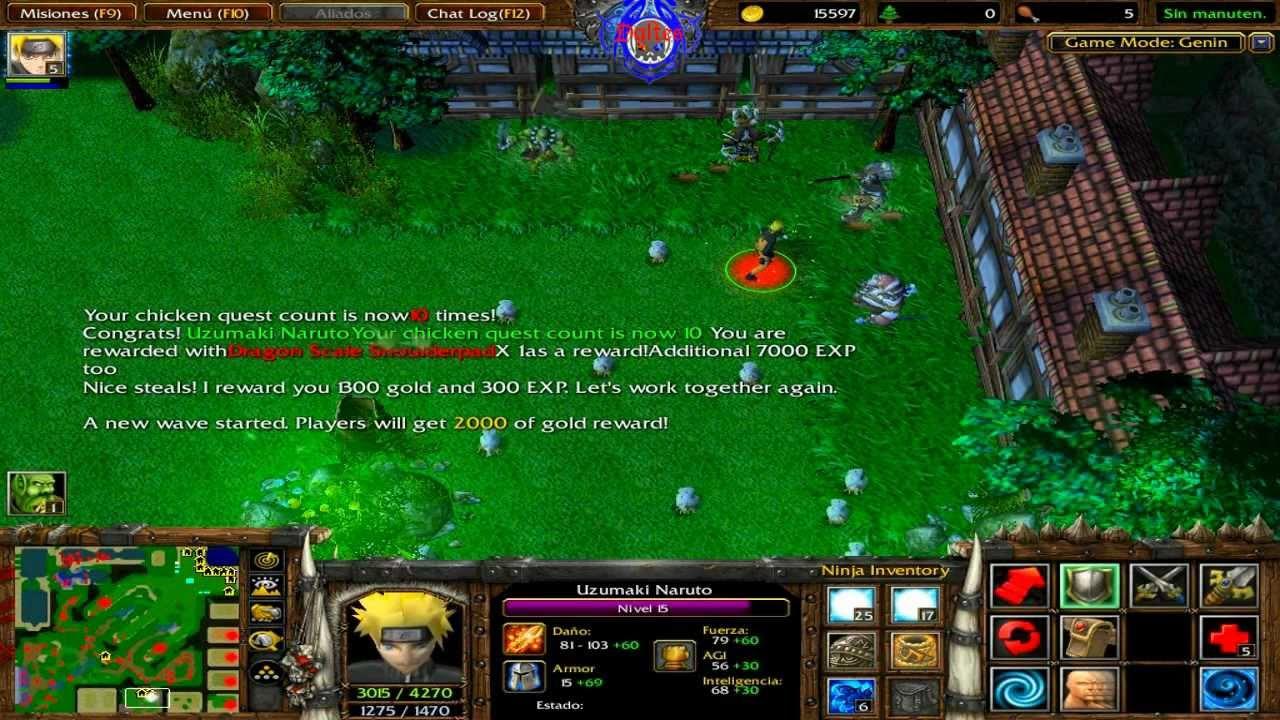 Mapas De Naruto Para Warcraft 3