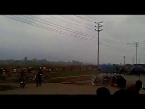 Công An cưỡng chế đất tại Đông Triều, tỉnh Quảng Ninh nhiều dân bị thương