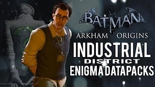 Batman Arkham Origins Industrial District All Enigma