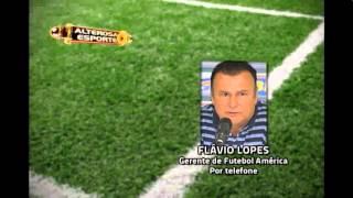 Fl�vio Lopes, gerente do futebol do Am�rica repercute julgamento do Icasa