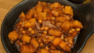 Sweet Potato & Chickpea Wot Recipe