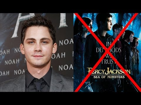 logan lerman reveals percy jackson is done youtube