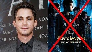Logan Lerman Reveals Percy Jackson Is DONE!