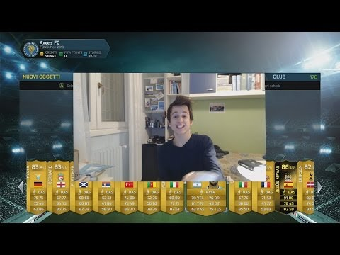 FIFA 14 UT IF JESUS NAVAS IN A PACK!! FIFA 14 MY BEST PLAYER IN A PACK w/ PIJAMA w/o VOCE LOL