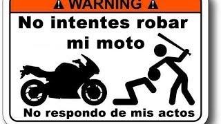 Consejos para evitar el robo de tu moto