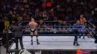 Brock Lesnar Vs. Edge (WWE Championship Match) Part 1 Of 3
