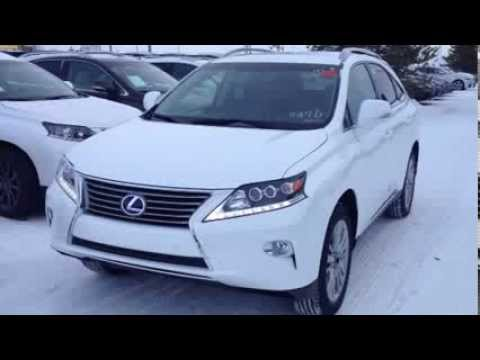 2014 Lexus RX 450h AWD Hybrid Technology Package Review Edmonton