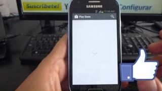 Cómo Acceder A Google Play Store Samsung Galaxy S3 Mini