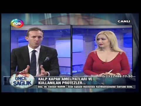 Kalp Kapak Ameliyatları ve Kullanılan Protezler- Ege TV 05.01.2017
