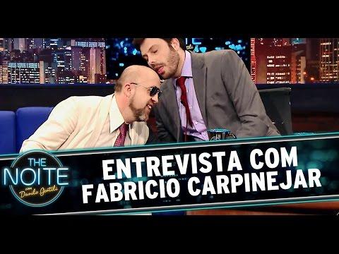 The Noite 15/07/14 (parte 1) - Fabricio Carpinejar