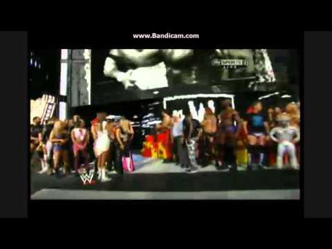 RAW - 11.08.2014 Hulk Hogan's birthday full w/ Flair, NWO, Lesnar, Cena