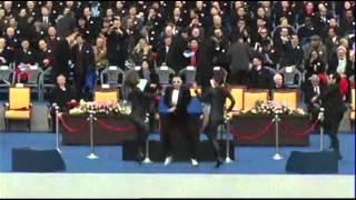 'Gangnam Style' at South Korean Inauguration