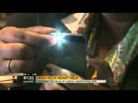 High-tech heart help from your smartphone