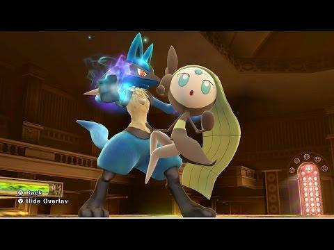 Super Smash Bros. for Wii U - Getting Meloetta