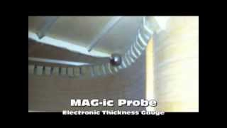 Watch the Trade Secrets Video, MAG-ic Probe Electronic Thickness Gauge