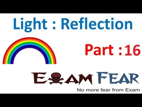 Physics Light Reflection & Refraction part 16 (Image formation convex concave lens) CBSE class 10 X