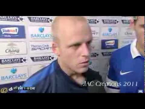 Steven Naismith & Gareth Barry Post Match Interview Everton 1-0 Chelsea 14/9/13