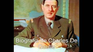 Biografia de Charles de Gaulle
