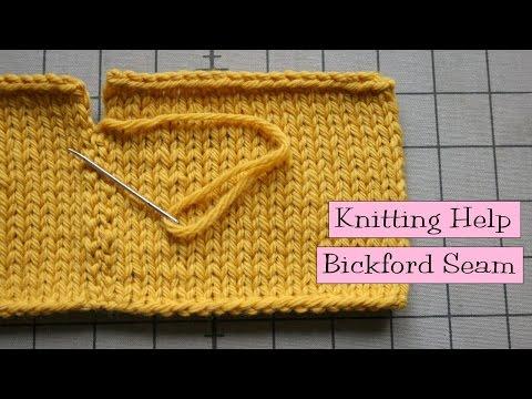 Knitting Help - Bickford Seam