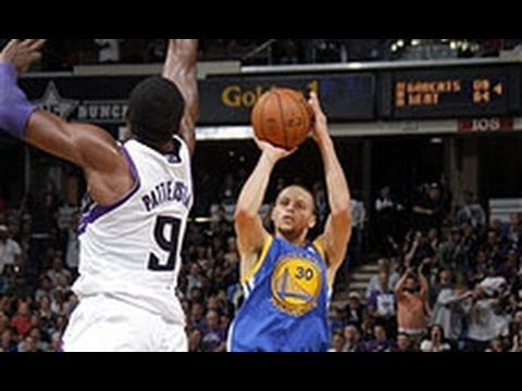 Stephen Curry Goes Off in Warriors Win Against Kings