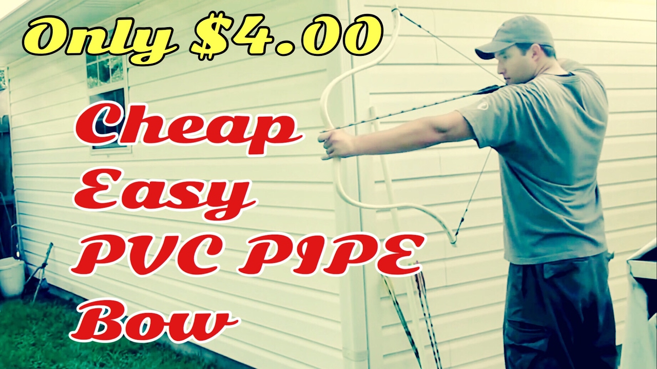 Starter pvc bow overview youtube for Pvc pipe bow plans