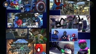LEGO Marvel Super Heroes All Comic Book Extras (150/150