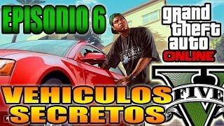 GTA V Online Vehiculos Secretos, Ocultos Y Raros Ep 6