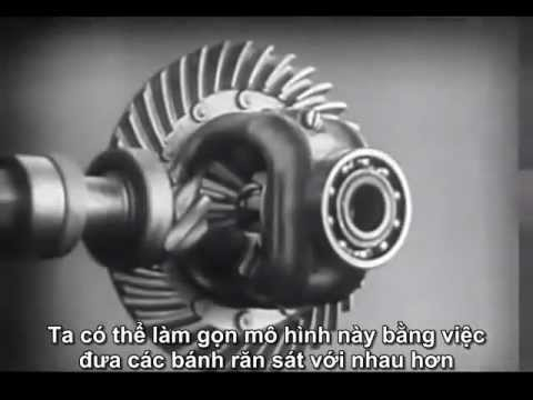 Bộ vi sai: Cấu tạo và nguyên lý hoạt động (Viet sub)