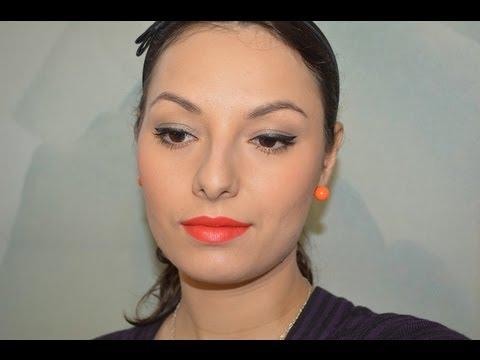 Быстрый и повседневный макияж с кремовыми тенями