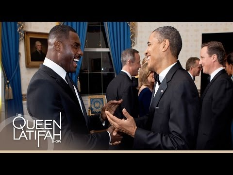 Idris Elba Talks Screening his Film with President Obama