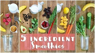 5 Healthy Smoothie Recipes | Healthy Breakfast Ideas