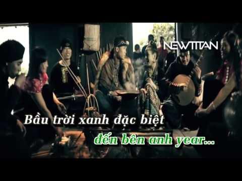 Karaoke Tình yêu màu nắng   Big Daddy ft Đoàn Thùy Trang Beat Không Rap