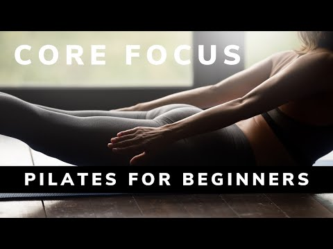 From BodyWisdom's Pilates for Beginners - Mat Routine