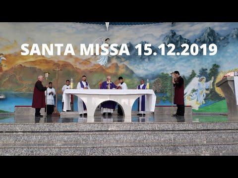 Santa Missa | 15.12.2019 | Padre José Sometti | ANSPAZ