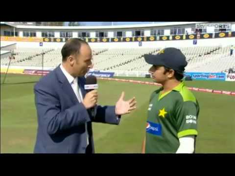 Saeed Ajmal's hilarious interview 2