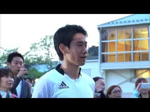 ◆日本代表◆香川真司、東北被災地訪問の動画公開