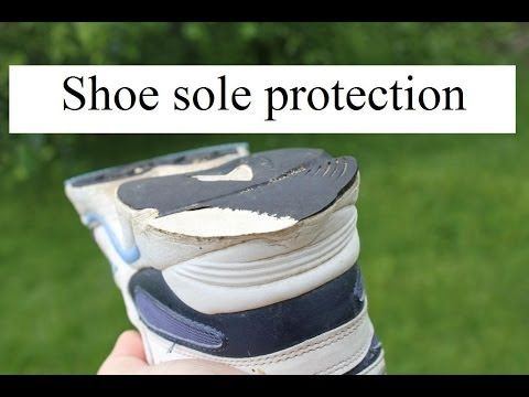 Shoe sole protection secret! Protect your shoes and sneakers. It works!